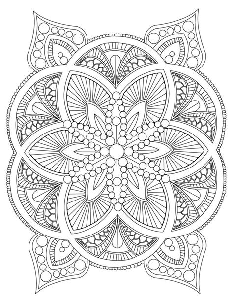 mandala coloring pages for anxiety 1966 best images about mandala madness on