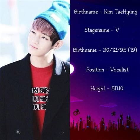bts member profile bangtan boys bts v kpop bts pinterest bts and