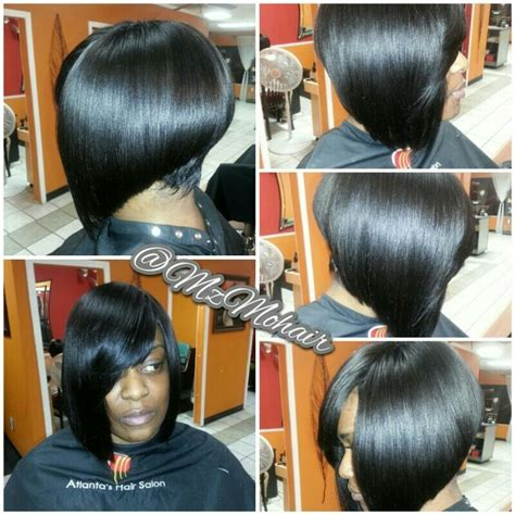 weavr for razor cut with bangs quick weave razor cut bob hair by me pinterest