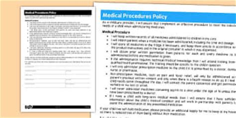 childminding policies templates policies childminder primary resources policies page 1