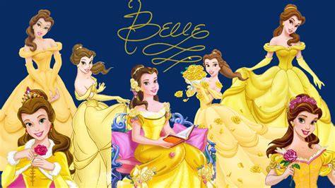 www disney miss belle disney wallpaper 36981318 fanpop