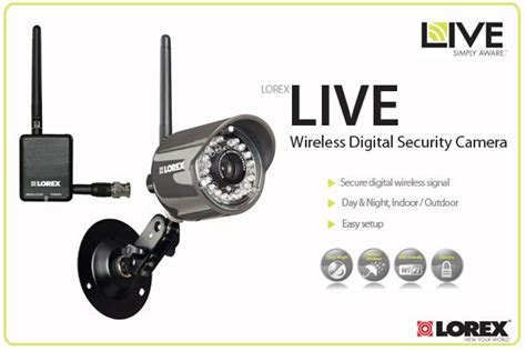 new lorex lw2110 wireless digital security home