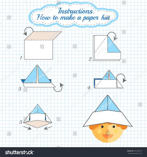 how to make paper hat tutorial hat made of