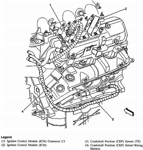 3100 v6 engine diagram 3100 camshaft position sensor location get free image