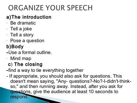 Speech Writing Sle steps to writing a speech 187 academic writing styles