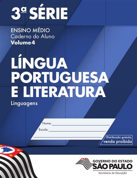 S A Volume 4 4 186 bimestre l 227 ngua portuguesa 3 s em volume 4 aluno