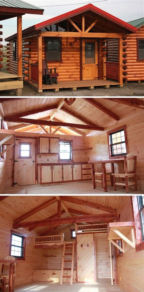 Portable Log Cabin Homes by One Of Our Portable Log Cabin Displays Log Cabins