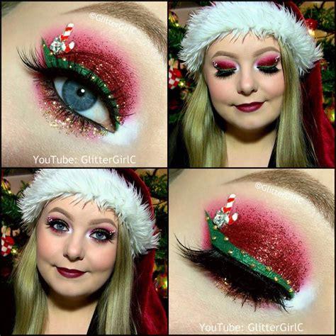 christmas makeup images christmas makeup look glittergirlc