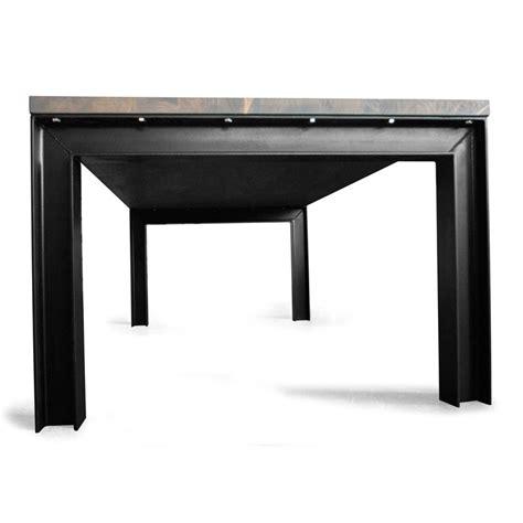 industriele tafel amsterdam industri 235 le eettafel met rubberwood hardhouten tafelblad
