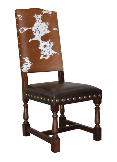 Cowhide Dining Room Chairs Colton Cowhide Dining Chair Proffitt