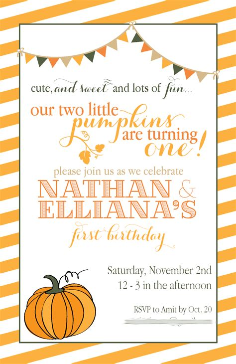 fall party invitations template best template collection