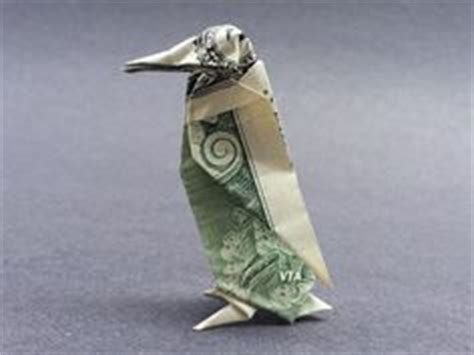 Dollar Bill Origami Penguin - money dollar origami on 978 pins