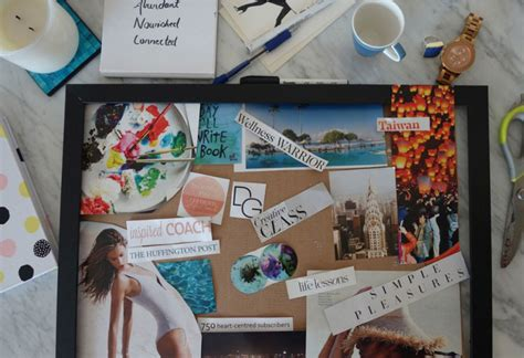 how to create a vision board one that turn your dreams into a reality create a vision board