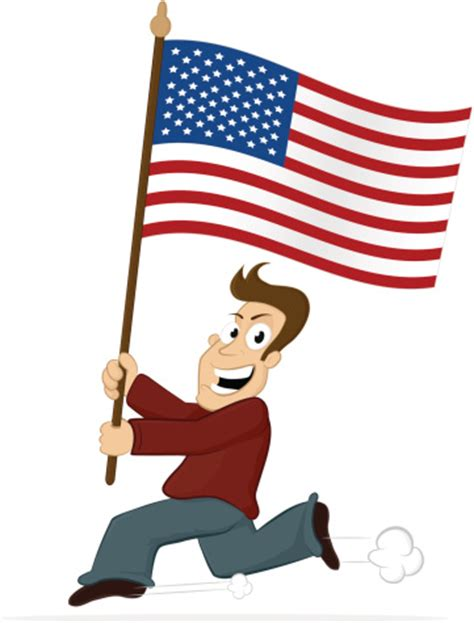american flag clipart best