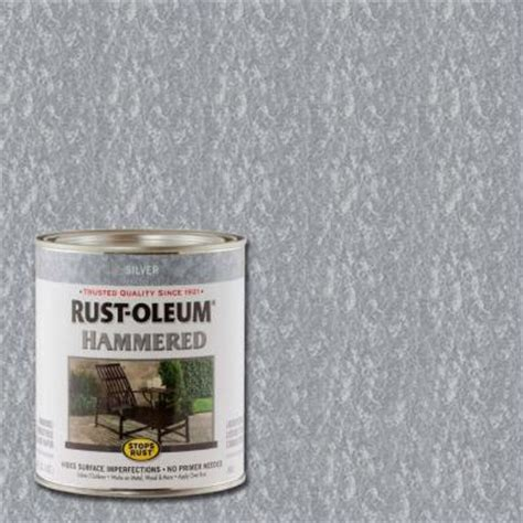 home depot paint cost per quart rustoleum hammered paint quart images