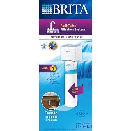 brita under filter brita redi twist 1 stage under system walmart com