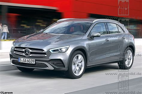 New Mercedes Gla Coupe by All New Mercedes Gla Grows Up Goes Electric Mercedesblog
