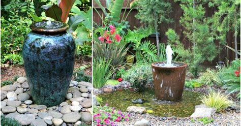 soothing diy water features
