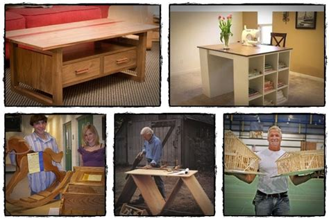 woodworking projects furniture craft plans instructs