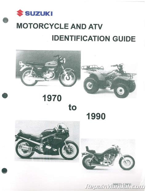 suzuki motorcycle atv identification guide