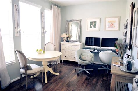 Home Office Instead Of Dining Room 电脑桌书房装修设计图片 土巴兔装修效果图