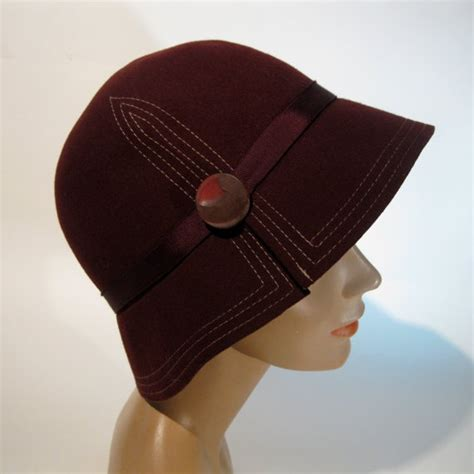Contrast Stitching Cloche Hat 17 best images about everything hats on 1920s