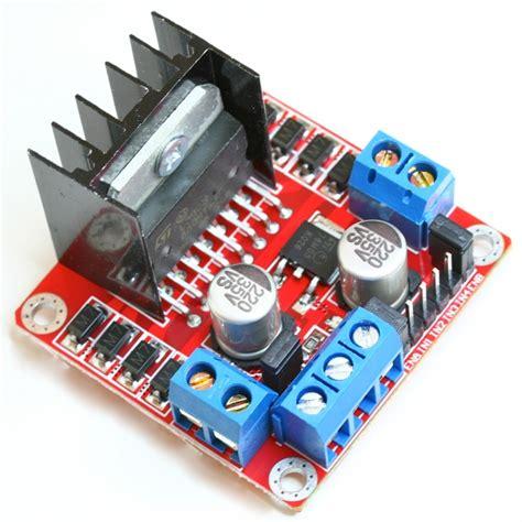 motor driver arduino l298n dual h bridge dc stepper motor controller module for