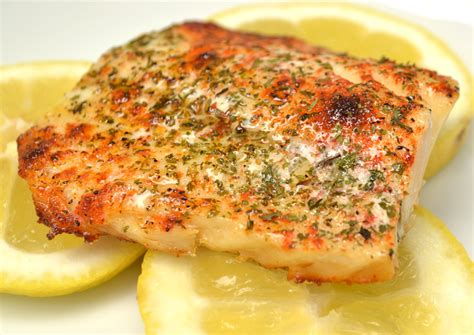 baked fish with brown butter