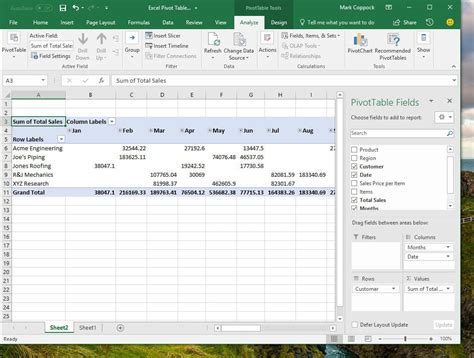 excel pivot table how to create a pivot table in excel to slice and dice