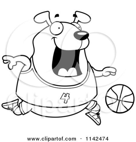 chubby puppies coloring pages pin dog plays basketball gif on pinterest