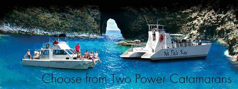 napali coast boat tours reviews 7 reasons to choose makana charters for your na pali cruise