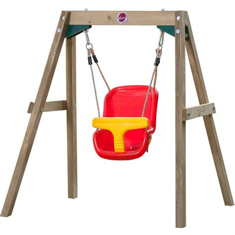 Wooden Baby Swing Set Wooden Dimensional Swing Sets