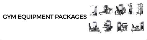 commercial equipment packages gymstore
