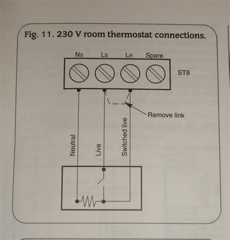 diagrams 500380 honeywell room thermostat wiring diagram
