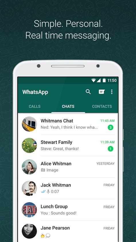 whatsapp free for android mobile phone whatsapp messenger android apps on play