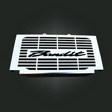 Cover Radiator Stainless Vixion suzuki bandit gsf600 600s stainless steel radiator cover grill ebay