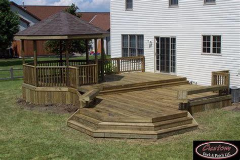 custom decks custom deck porch home page