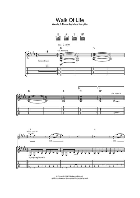 tutorial walk of life piano walk of life sheet music music for piano and more