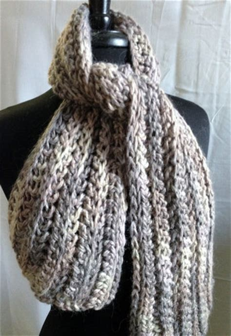 Free Crochet Patterns For Scarves Using Bulky Yarn