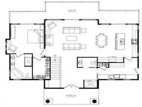 House Plans With Open Floor Design Ranch Home Plans With Open Floor Plan Cottage House Plans