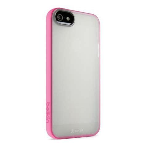 Belkin Grip Sheer For Iphone Se 5 5s Belkin Grip Sheer Cover For Iphone 5 5s Se Clear Pink Multi