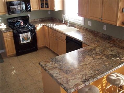 Golden Mascarello Countertop by Granite Doesn T It This Is Formica Golden Mascarello With