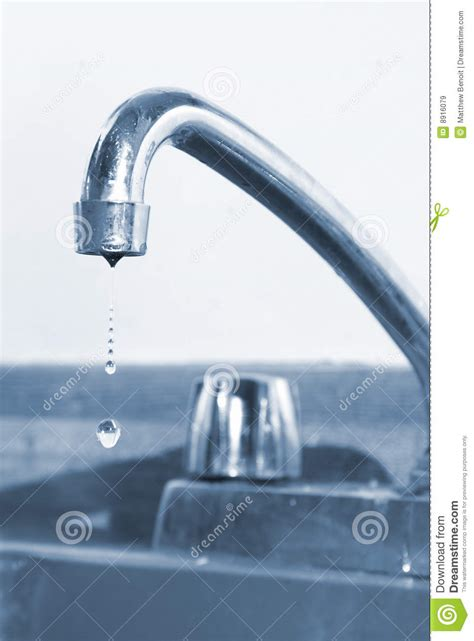 kitchen faucet drips faucet royalty free stock images image 8916079