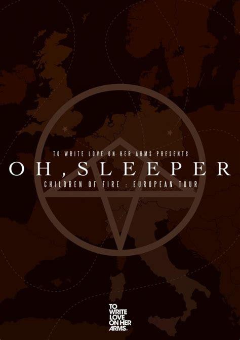 oh sleeper european tour dates