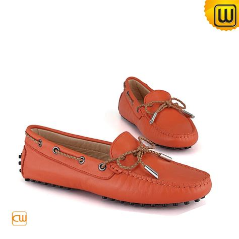 womens driving loafers leather tods moccasin shoes cw314029