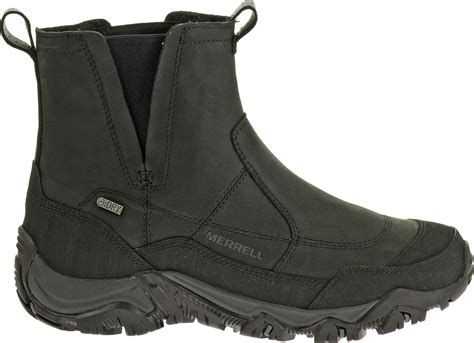 merrell winter boots mens pull on winter boots for coltford boots