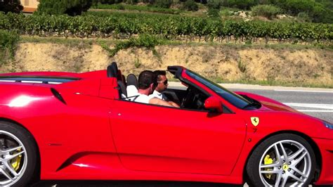 Ferrari F430 Test by Test Ferrari F430 Spider F1 Youtube