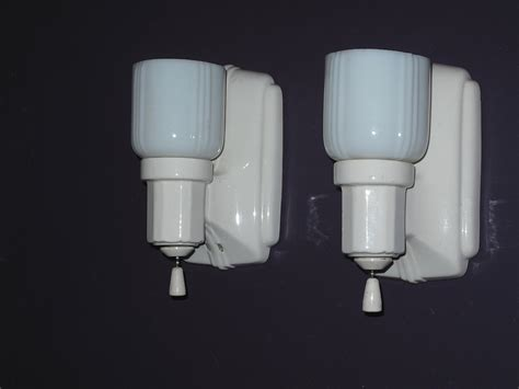 Porcelain Bathroom Lighting Vintage Kitchen Lighting