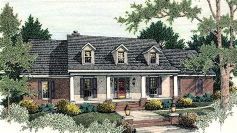 classic american house classic american home plan 62100v architectural