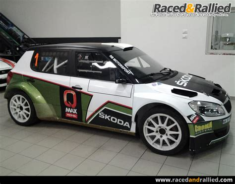 skoda fabia s2000 for rent rally cars for sale at raced